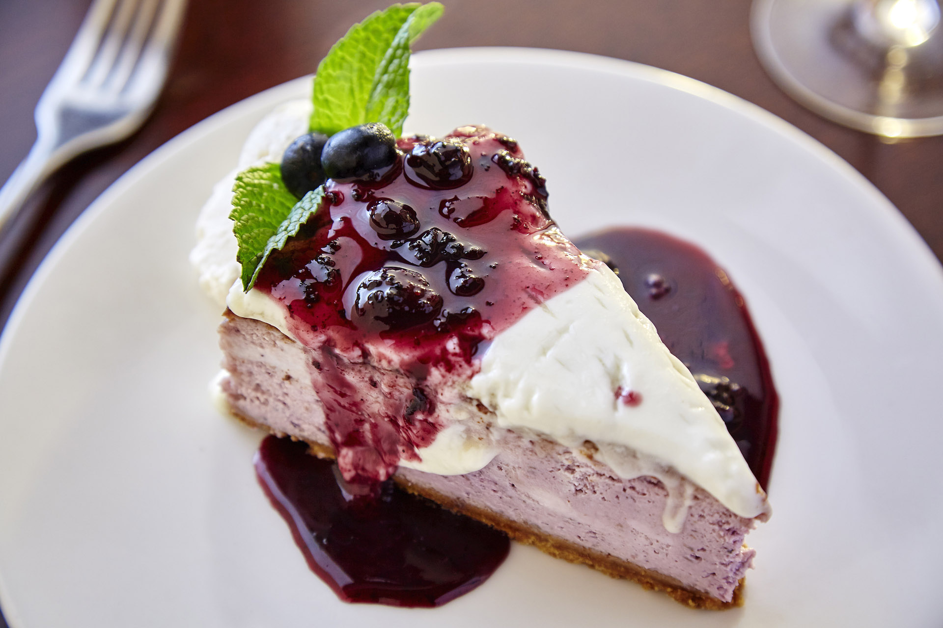ZephyrGrillandBar Blueberry Cheesecake